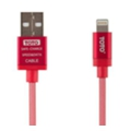Toto TKG-29 Silk Sreen Metal USB cable Lightning 1m Red